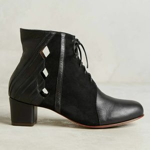 Luiza Perea Anthropologie Cutout Bootie